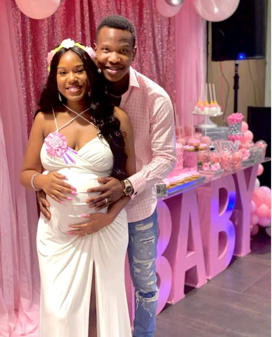 Comedian Aphrican Ace welcomes baby girl with his wife, Bella
