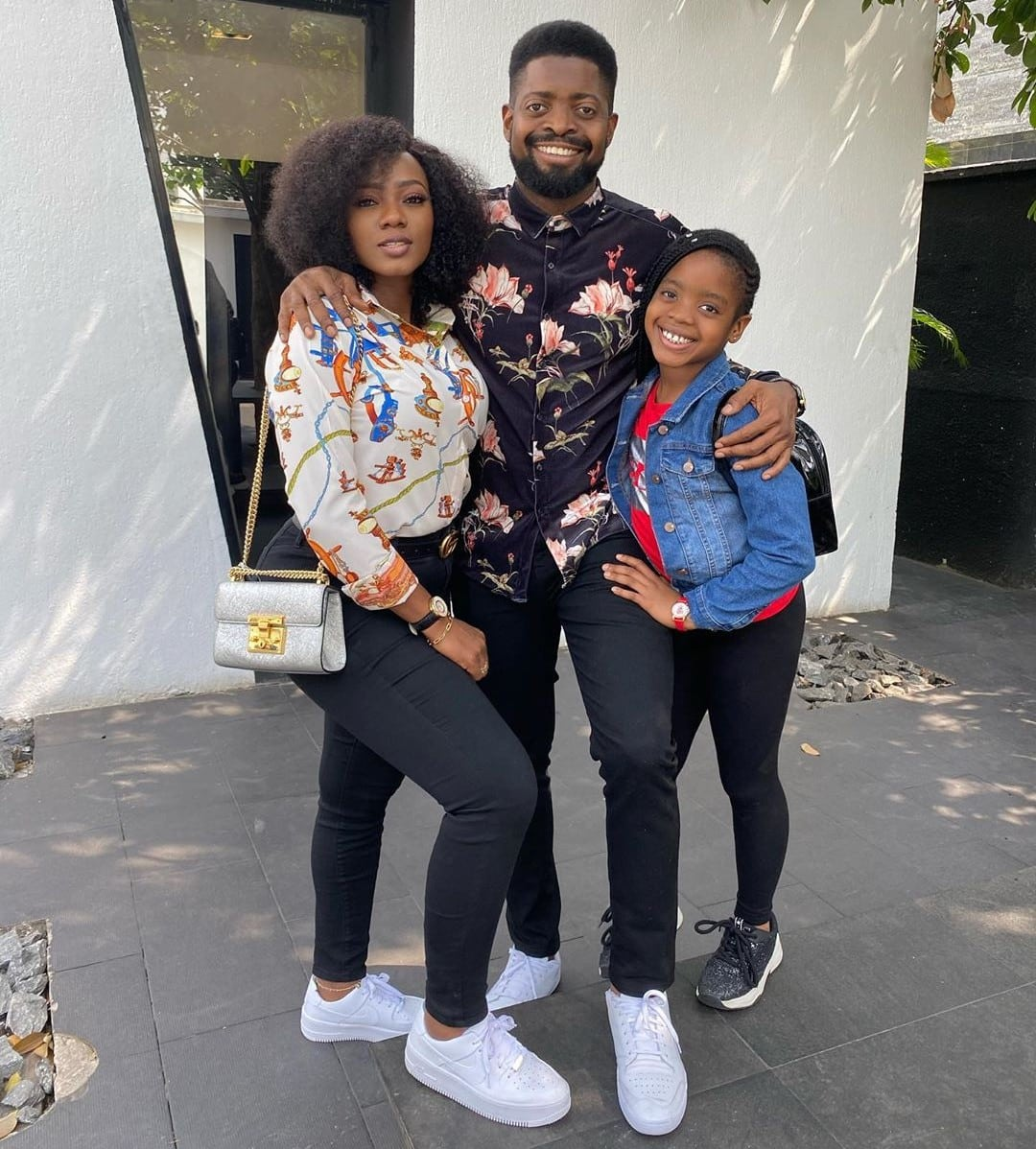 Basketmouth shares stunning photo with family