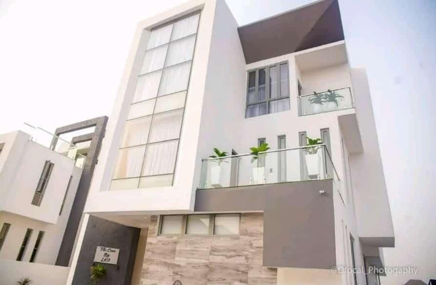 Super Eagles striker, Olarenwaju Kayode launches multi-million Naira mansion in Lagos