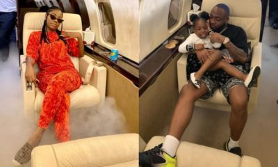 Nigerians react to Davido and his babymama, Sophia Momodu's drama on IG
