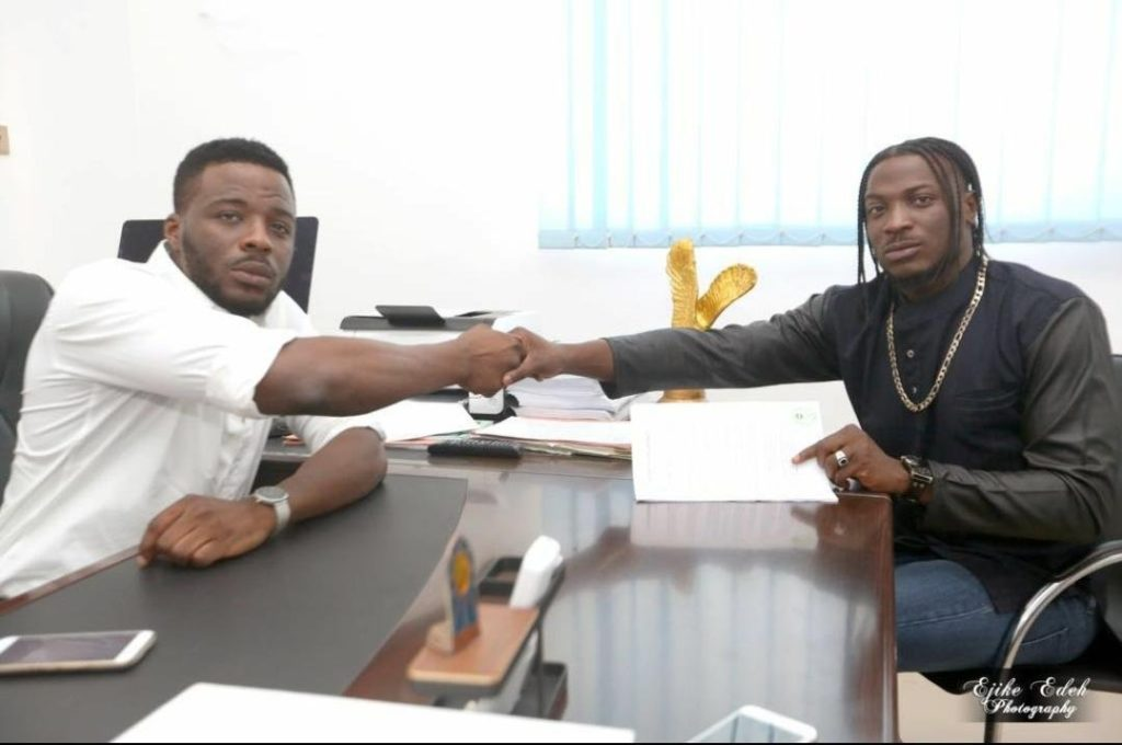 Davido slams record producer who accused Peruzzi of signing with DMW while still signed with him
