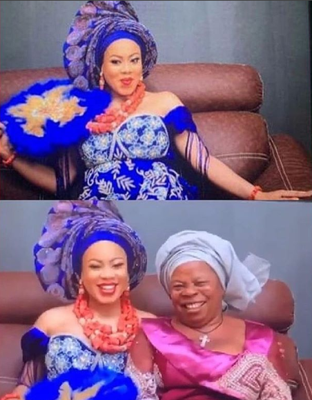 First photos and video from BBNaija's Nina's introduction ceremony