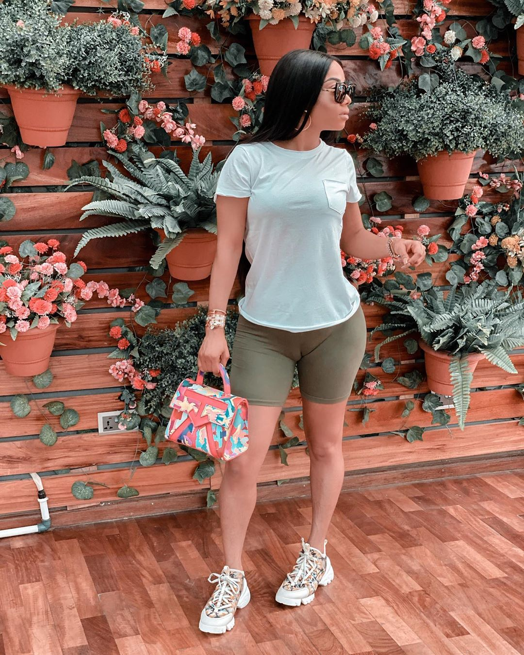 """Where did you buy it from?"" – Fans ask Toke Makinwa as her camel toe goes missing in new Photos"