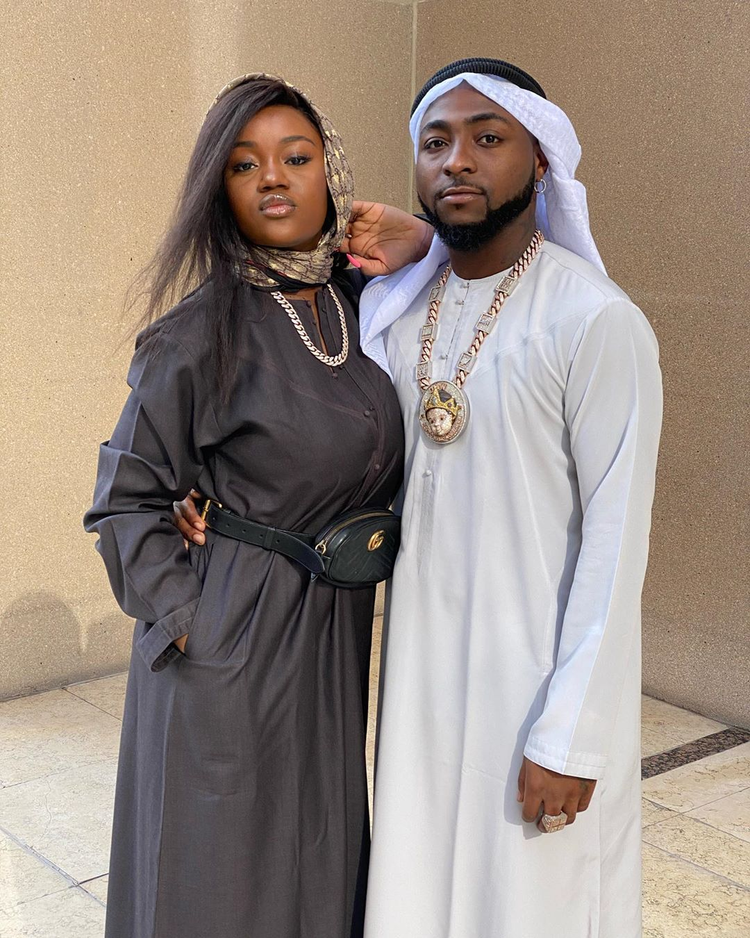 Davido shares lovely photo of his wife-to-be, Chioma and Ifeanyi | GCFRNG - NIGERIA BREAKING NEWS TODAY | Breaking News