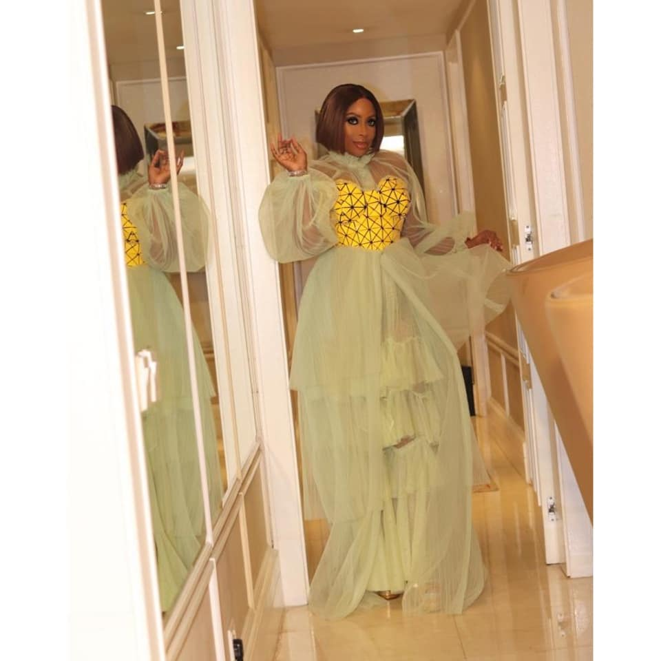 'I became a grandma' – Mo Abudu says as she thanks God after her daughter delivered a baby