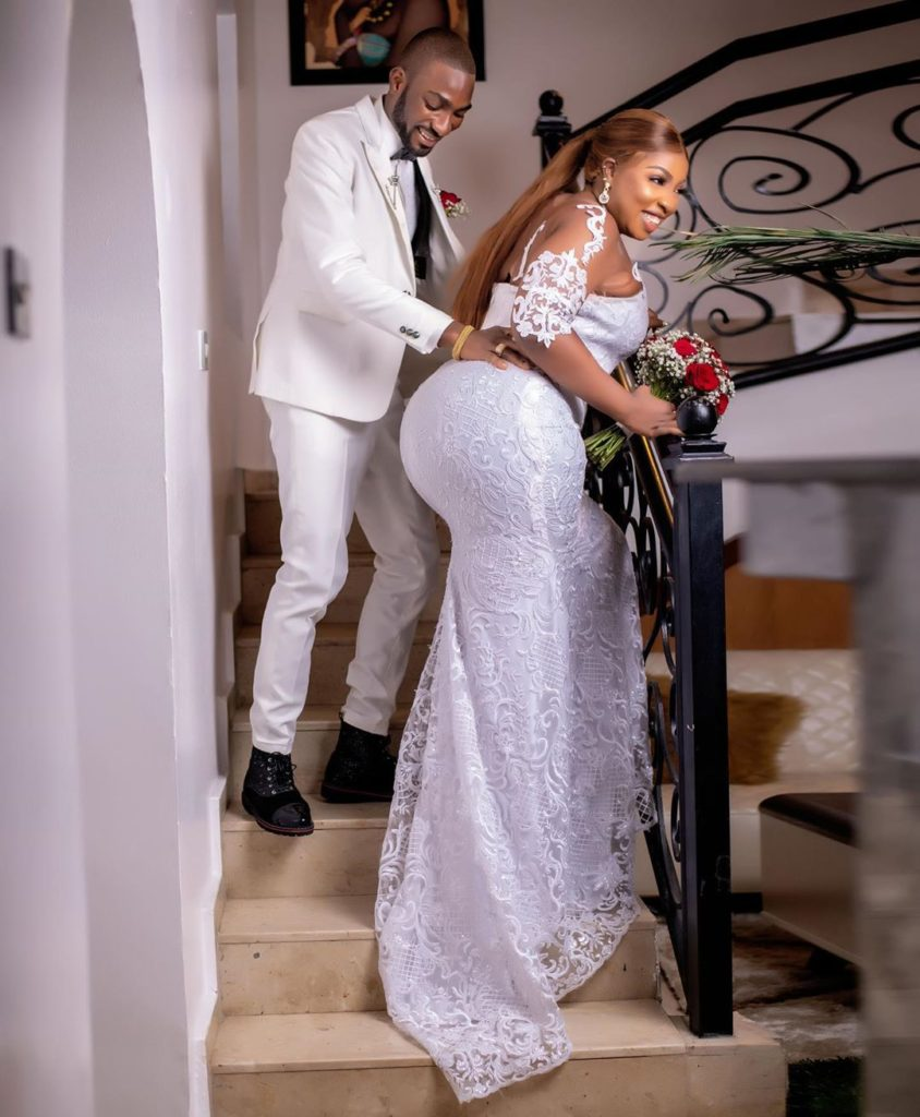 'I'll honor you with the whole of me' – Newly married Anita Joseph assures her husband, MC Fish