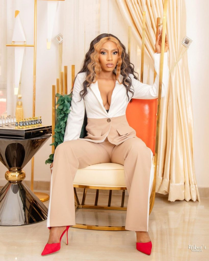 All my haters are in Brekete Kingdom in Nigeria– Mercy Eke shades Tacha & her fans (video)