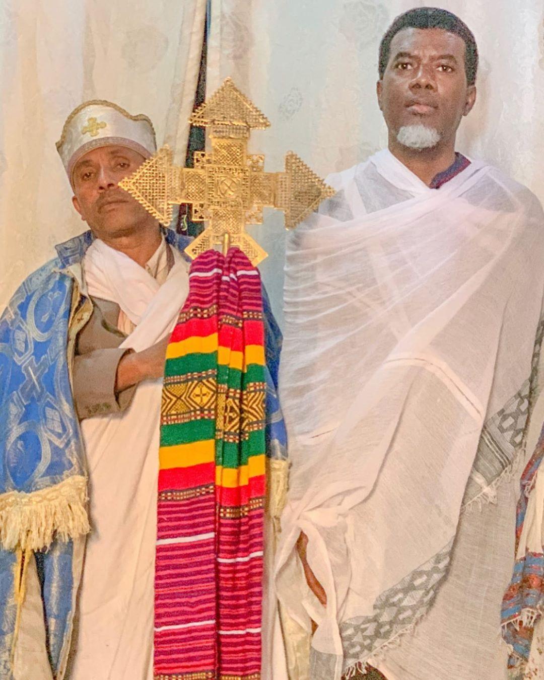 Closing your eyes while praying has no scriptural backing- Reno Omokri