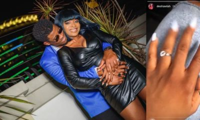BBNaija's Seyi Awolowo and girlfriend, Adeshola are engaged
