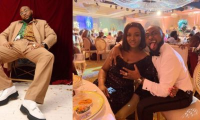 Davido grabs Chioma's breasts at his brother's wedding