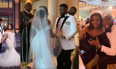 First photos and videos from Adewale Adeleke's white wedding
