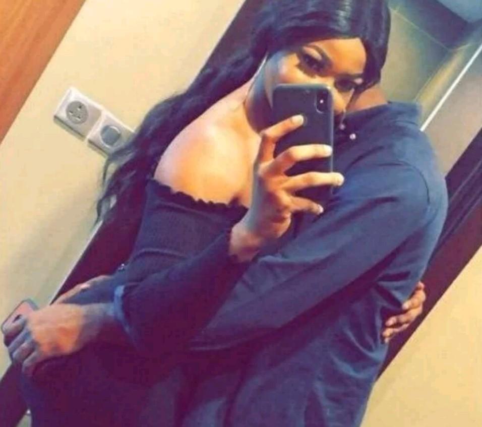 Tacha's boyfriend, King Ladi shares mirror selfie with lover (Photo)