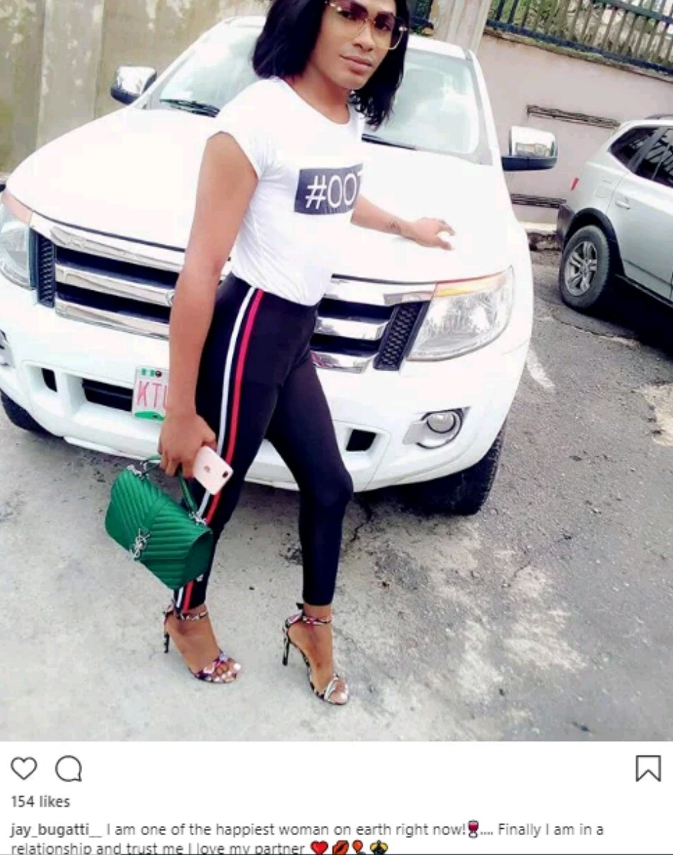 I am the happiest woman on earth – Upcoming cross dresser Jay Bugatti says