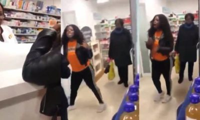 Lady confronts family friend for sleeping with her father (video)