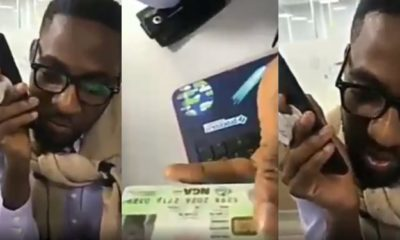Man leads scammer on in hilarious video that ends with the scammer cursing him