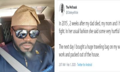 Man recounts how he walked away from his mother, 2 weeks after his father's death