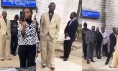 Nigerian father disgraces Pastor for allegedly trying to sleep with his daughter (video)