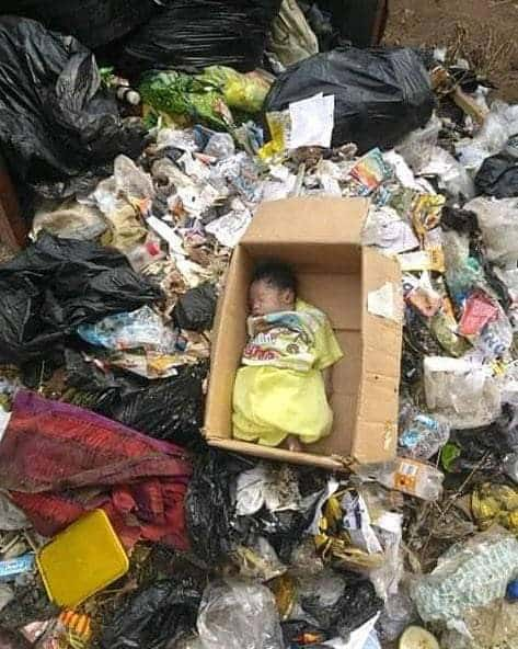 Body of well-clothed newborn baby found in refuse dump in Calabar (photos)