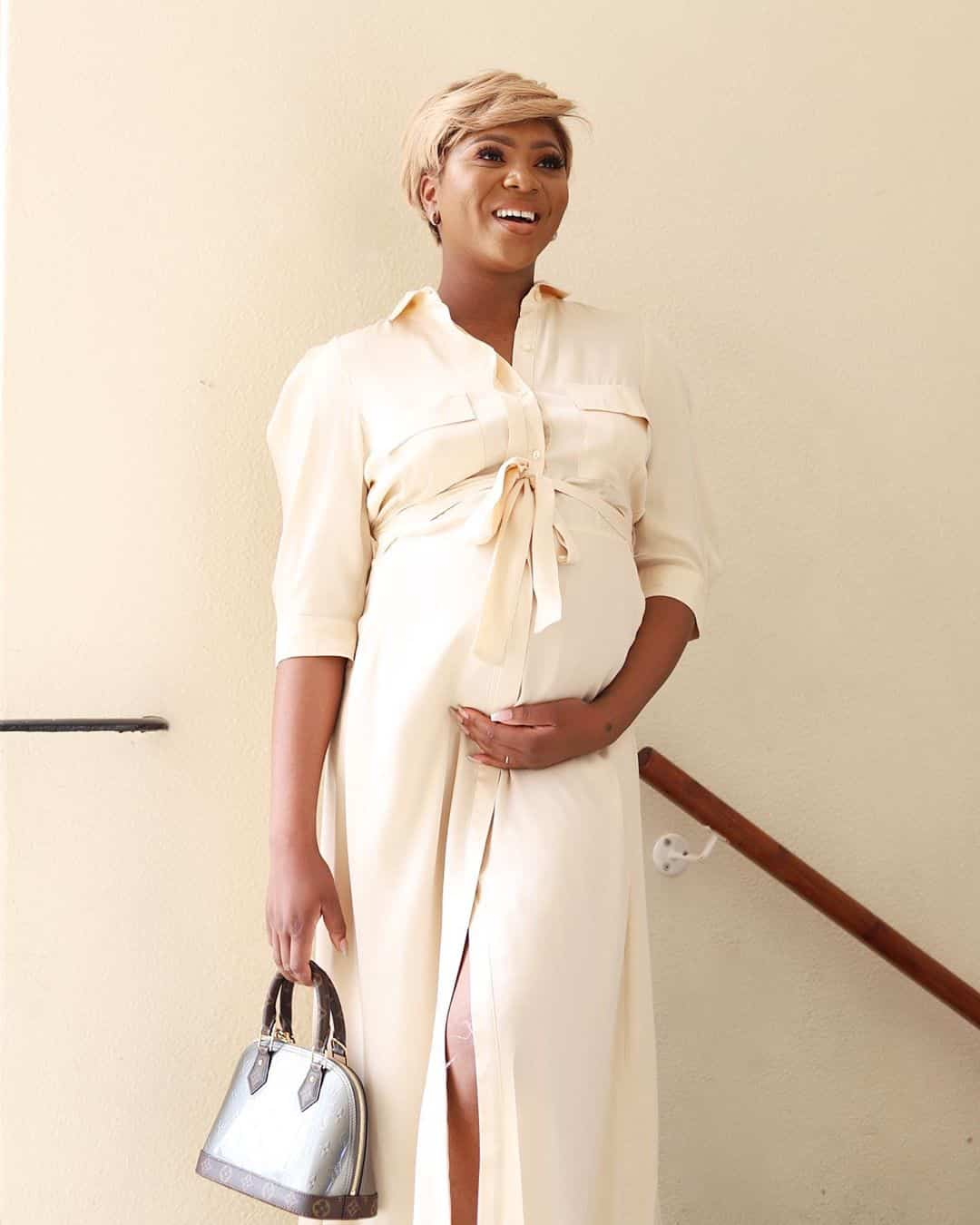 Stephanie Coker reveals she had her baby through IVF  (video)
