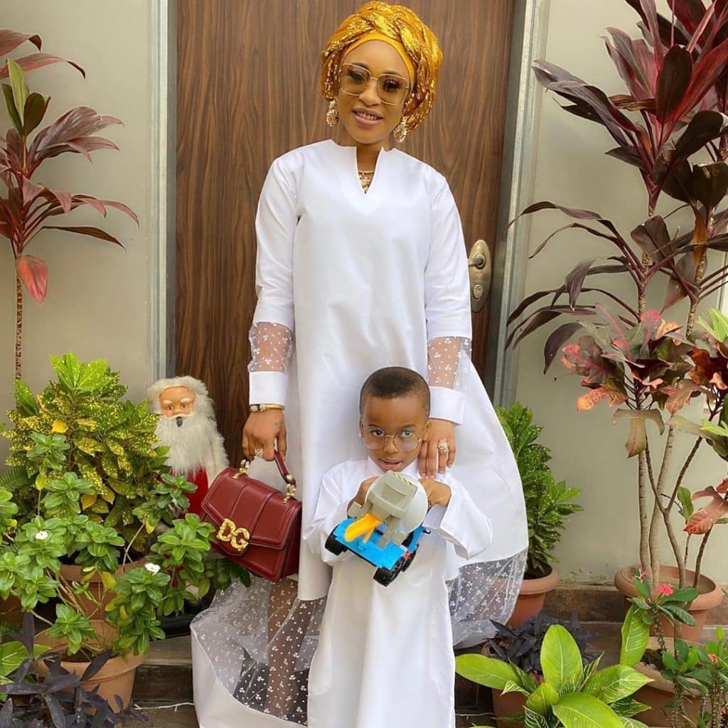 My son told me he didn't like the outfit I wore to his school – Tonto Dikeh