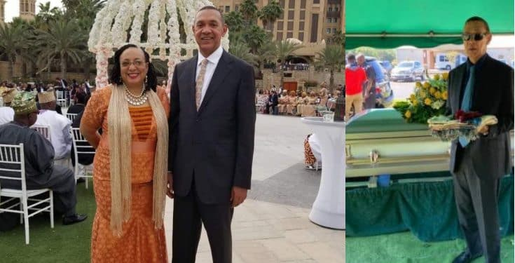 Ben Murray-Bruce's wife, Evelyn, laid to rest (photos)