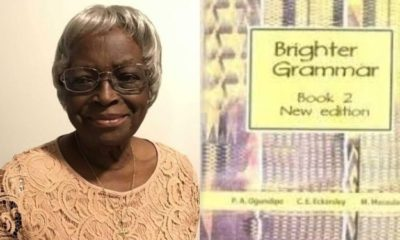 'Brighter Grammar' author, Phebean Ajibola Ogundipe dies at 92