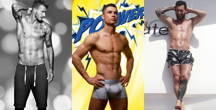 David Beckham, Ronaldo and Messi make list of 'footballers your wife wants to sleep with'