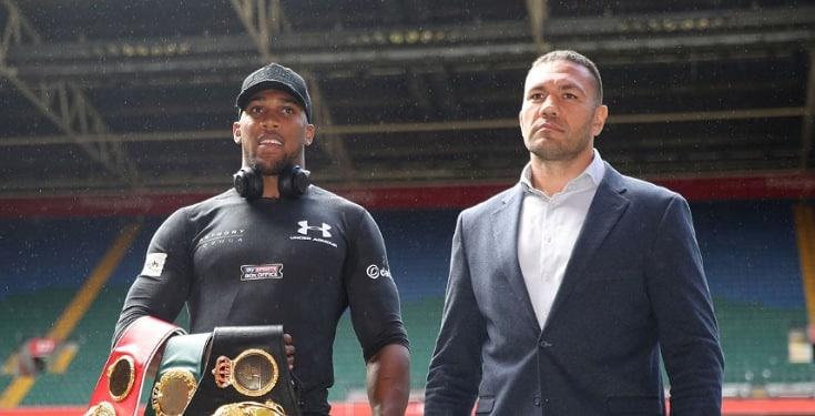 Anthony Joshua to fight Kubrat Pulev at Tottenham Hotspur Stadium in June