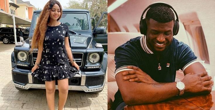 Just give me 30 seconds I will empty Shoprite – Regina Daniels dares Peter Okoye