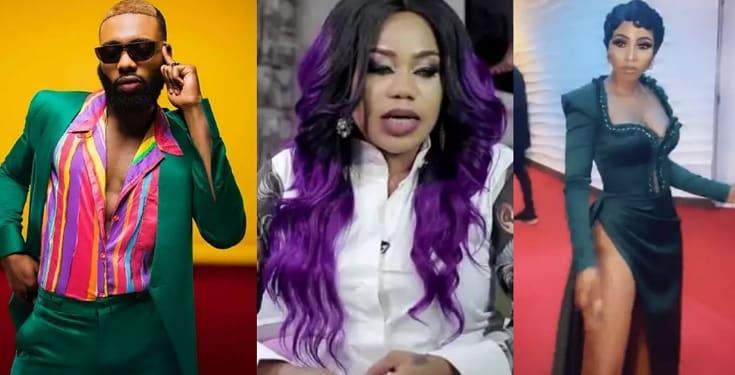 Swanky Jerry slams Toyin Lawani for mocking Mercy Eke after she emerged 'Best dressed female' at AMVCA