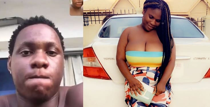 Image result for Nigerian lady identified as Annie Blonde has called out a Nigerian man for allegedly paying seven Naira (N7) instead of the seven thousand naira (N7,000) they agreed on after a threesome phone sex.
