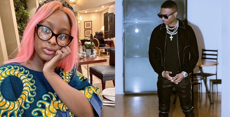 """""""Send me dollars"""" – Wizkid replies DJ Cuppy as she asks him to feature in her debut EP"""