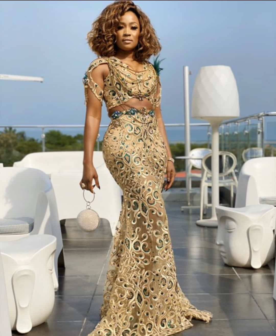 Check Out How Nigerian Celebrities Slayed To AMVCA 2020 (Photos)