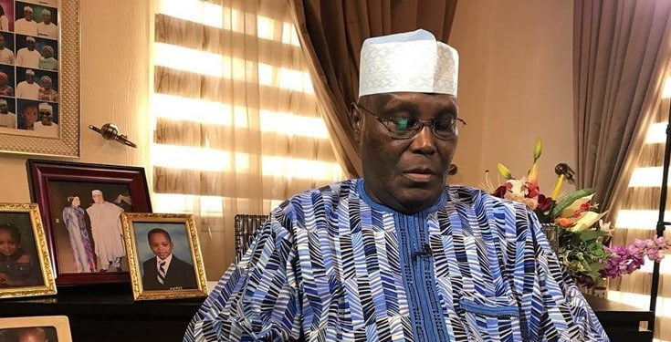 'It is not a death sentence, we will all be fine' - Atiku Abubakar says about the coronavirus pandemic