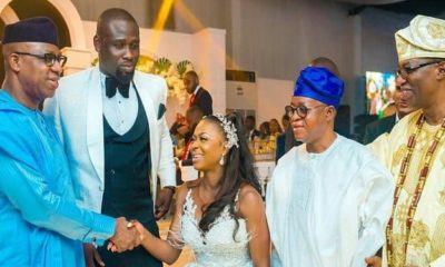 Photos from the wedding of ex Ogun state governor Gbenga Daniel's son