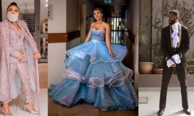 Toyin Lawani mocks Mercy and Mike as they emerge Best Dressed Female and Male at the AMVCA 2020