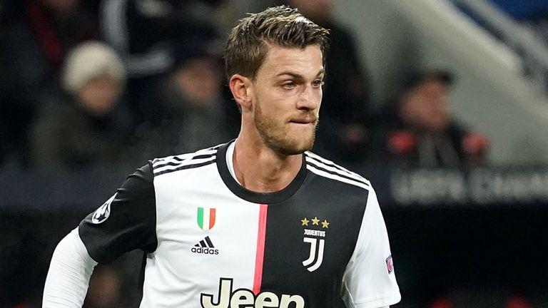 Juventus' Daniele Rugani tests positive for coronavirus