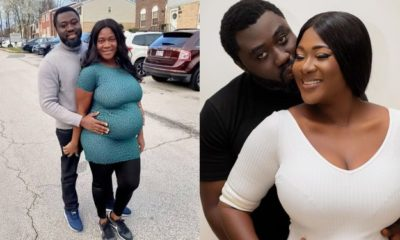 """My wife has not given birth yet"" — Mercy Johnson's husband debunk rumors"