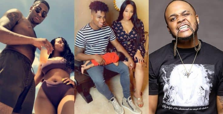 Davido's cousin Shina Rambo calls out his brother-in-law for beating his sister