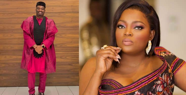 'I have more respect for you after making a mistake and owning up to it' - Don Jazzy tells Funke Akindele