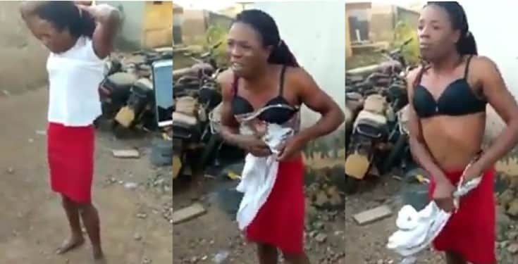Nigerian man forced to undress after he was caught working as a ...
