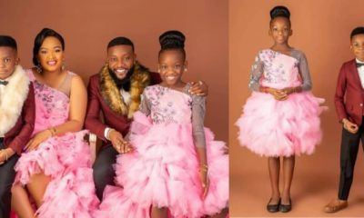 KCee shows off his family as he celebrates his birthday with lovely new photos