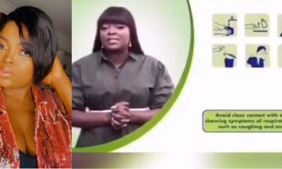 NCDC, Dettol react to Funke Akindele's arrest
