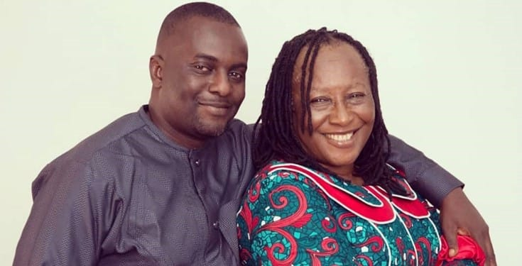 Patience Ozokwo celebrates her first son on his birthday