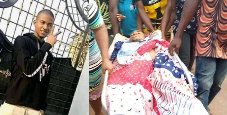 Young man allegedly killed by a policeman in Abia (photos/videos)