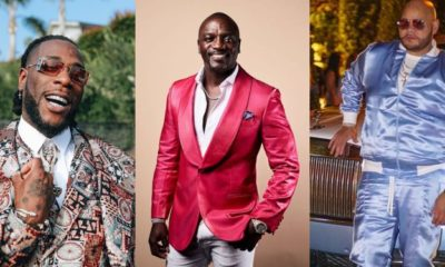 """Burna Boy came with the truth in his lyrics,"" - Akon tells U.S rapper, Fat Joe (Video)"