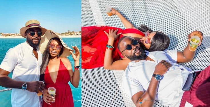 BBNaija's Khafi celebrates fiance Gedoni on his 32nd birthday (Video)