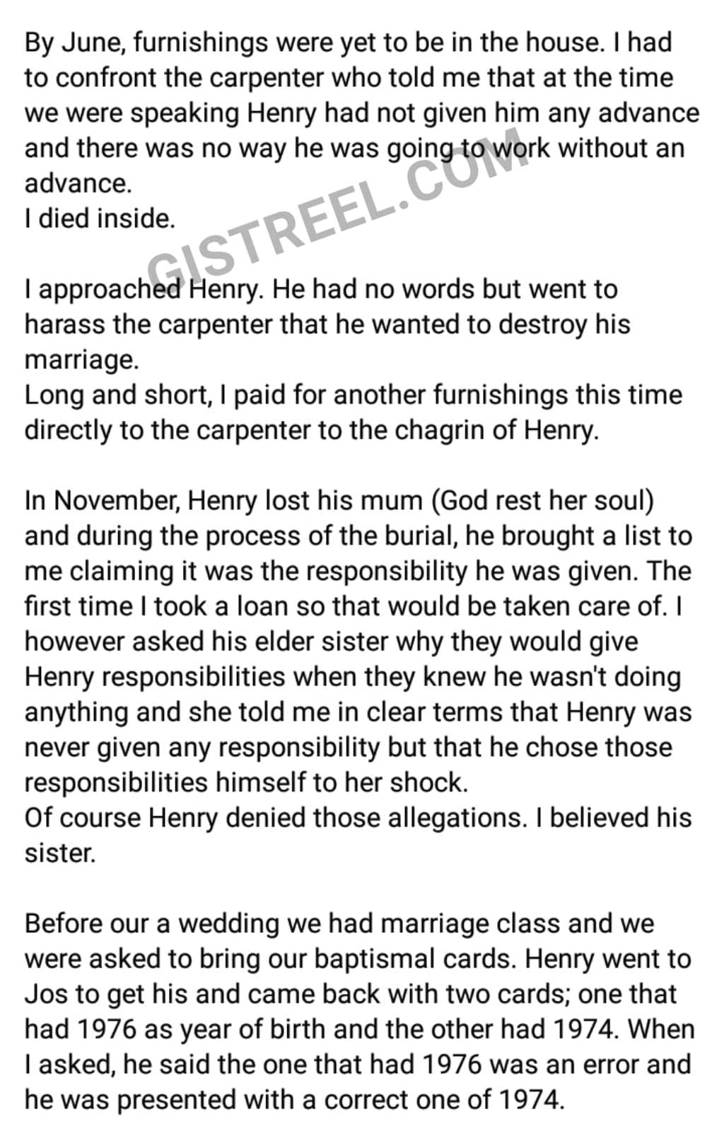 Wife divorces lying husband