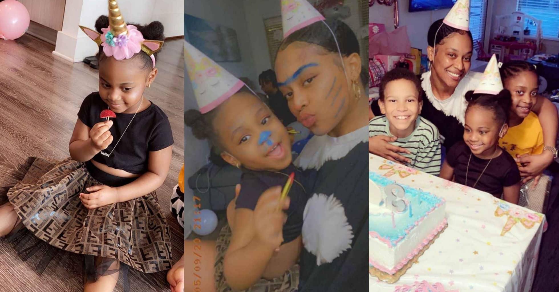 Photos from Hailey Adeleke's 3rd birthday