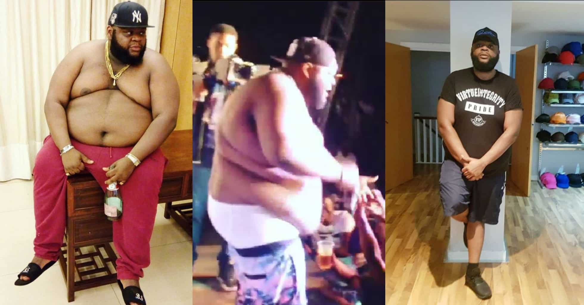 Man Shows Off Incredible Weight Loss Transformation